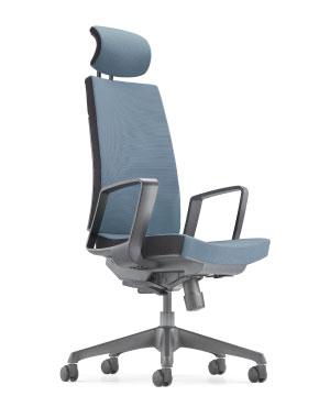 Clover Presidential High Back Fabric Office Chair