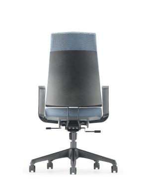 Clover Presidential Medium Back Fabric Office Chair