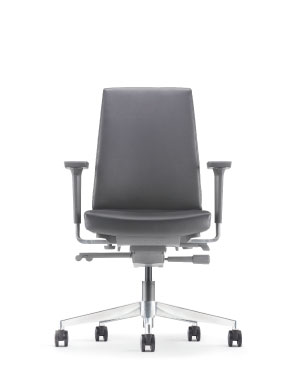 Clover Executive Low Back Leather Office Chair