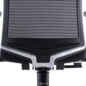Backrest with aluminium V-Shape design support