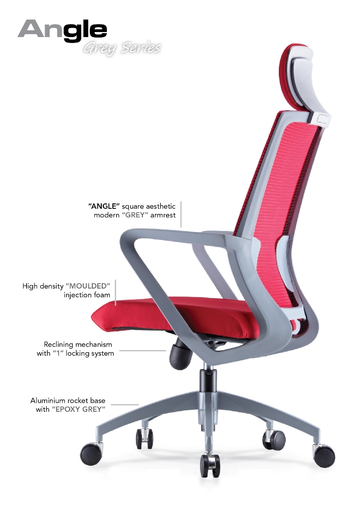 Angle Office Chair Specification