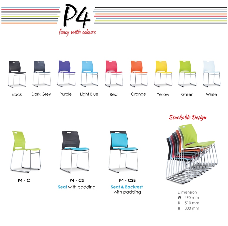 P4 Pantry Chairs Specification