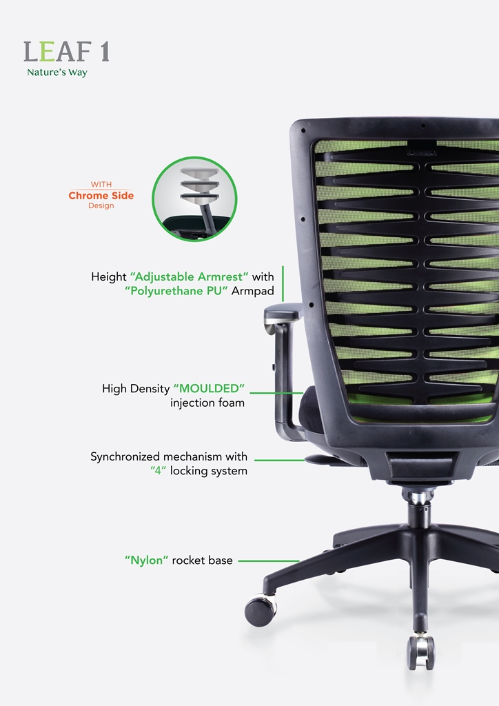 Leaf 1 Office Chair Specification