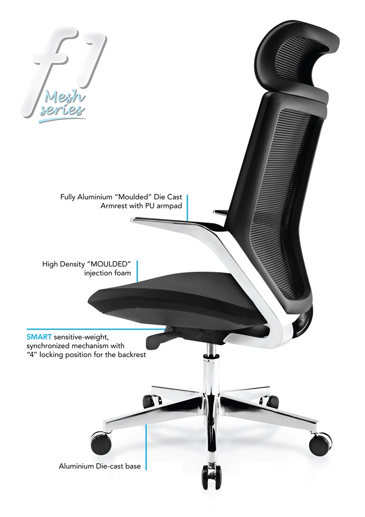 F1 Mesh series Office Chair Specification