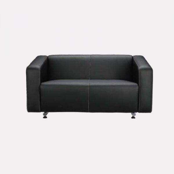 Alpha Office Sofa - 2 Seater