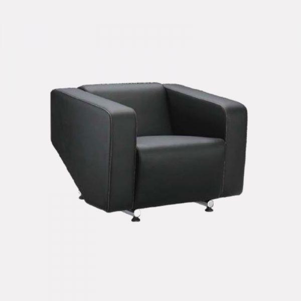 Alpha Office Sofa - 1 Seater