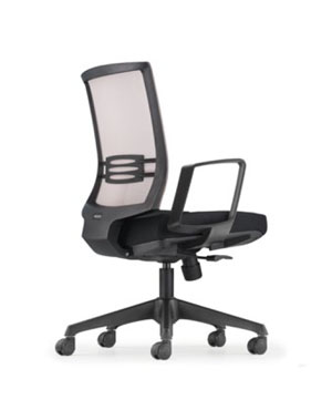 Intouch Executive Low Back Fabric Office Chair