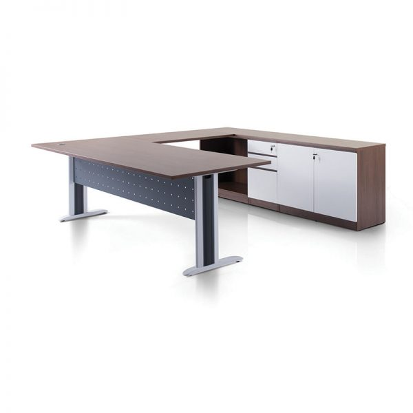 Executive Series Manager Table Set with Laven Leg