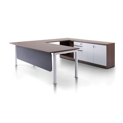 Executive Series Manager Table Set with Rumex Leg