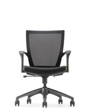 Maxim Executive Low Back Fabric Office Chair