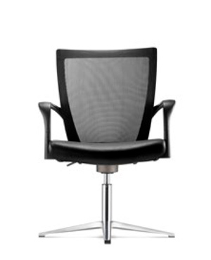 Maxim Visitor/Conference Leather Office Chair