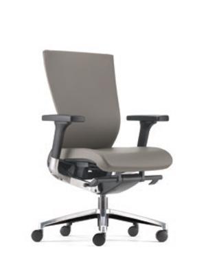 Maxim Presidential Medium Back PU Leather Office Chair