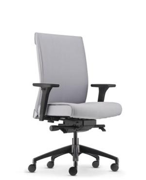 Pegaso Lowres Presidential Medium Back Fabric Office Chair