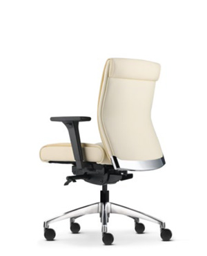 Pegaso Lowres Executive Low Back Leather Office Chair