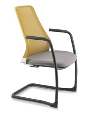 Pico Lowres Visitor/Conference Leather Office Chair