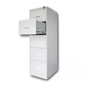 5 Drawer Filing Cabinet with Races Handle c/w Ball Bearing Slide