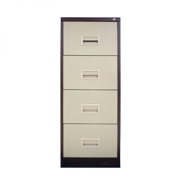 4 Drawer Filing Cabinet with Races Handle c/w Ball Bearing Slide