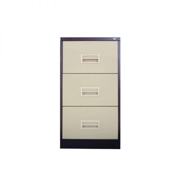 3 Drawer Filing Cabinet with Races Handle c/w Ball Bearing Slide