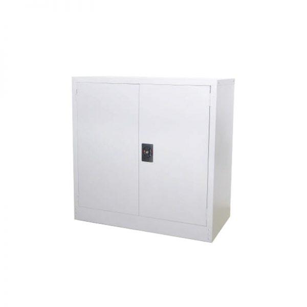 Half Height Cupboard with Steel Swing Door c/w 1 adjustable shelf