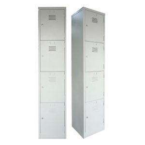 4 Compartments Steel Locker - Office Steel Furniture Supplier