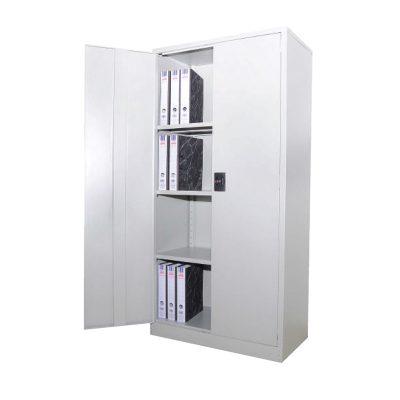 Full Height Cupboard with Steel Swing Door c/w 3 adjustable shelf