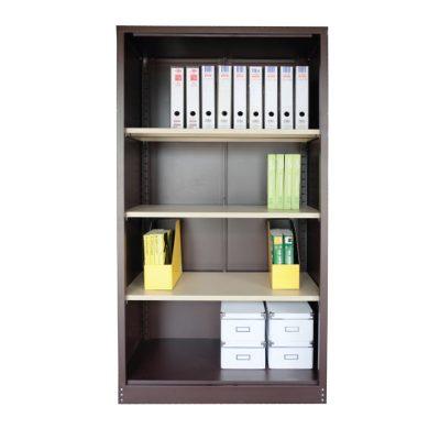 Full Height Cupboard without door c/w 3 adjustable shelf