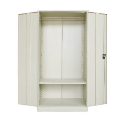 Full Height Wardrobe with Steel Swinging Door c/w 1 Cloth Hanging Bar at Top & 1 Adjustable Shelf at Bottom
