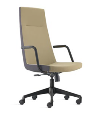 Smarty Presidential High Back Fabric Office Chair
