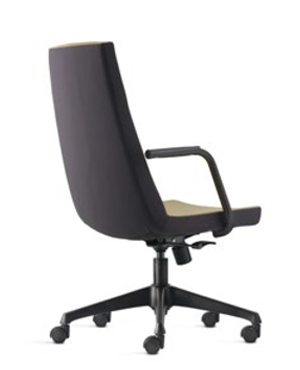 Smarty Presidential Medium Back Fabric Office Chair