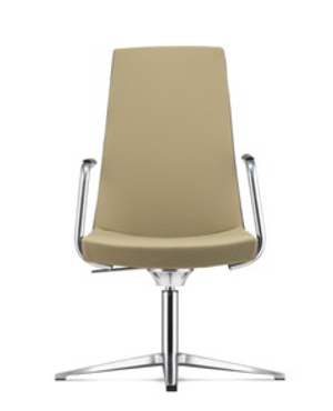 Smarty Visitor/Conference Fabric Office Chair With Arm