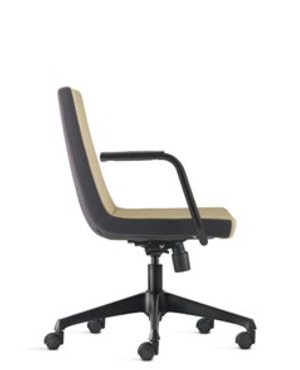 Smarty Executive Low Back Fabric Office Chair