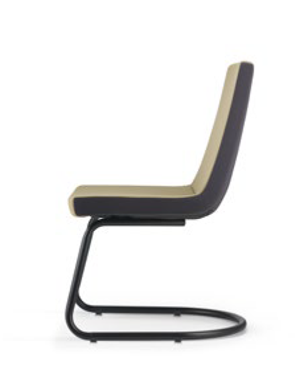 Smarty Visitor/Conference Fabric Office Chair Without Arm