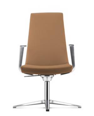 Smarty Executive Low Back Leather Office Chair
