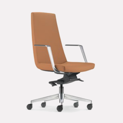 Smarty Leather | Fabric Office Chair - Keno Design Office Chair Supplier