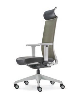 Surface Presidential High Back Leather Office Chair