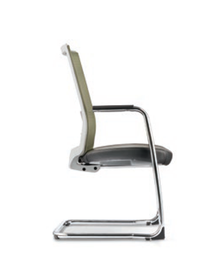Surface Visitor/Conference Leather Office Chair
