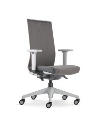 Surface Presidential Medium Back PU Leather Office Chair