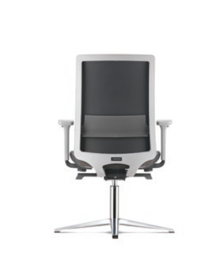Surface Visitor/Conference PU Leather Office Chair