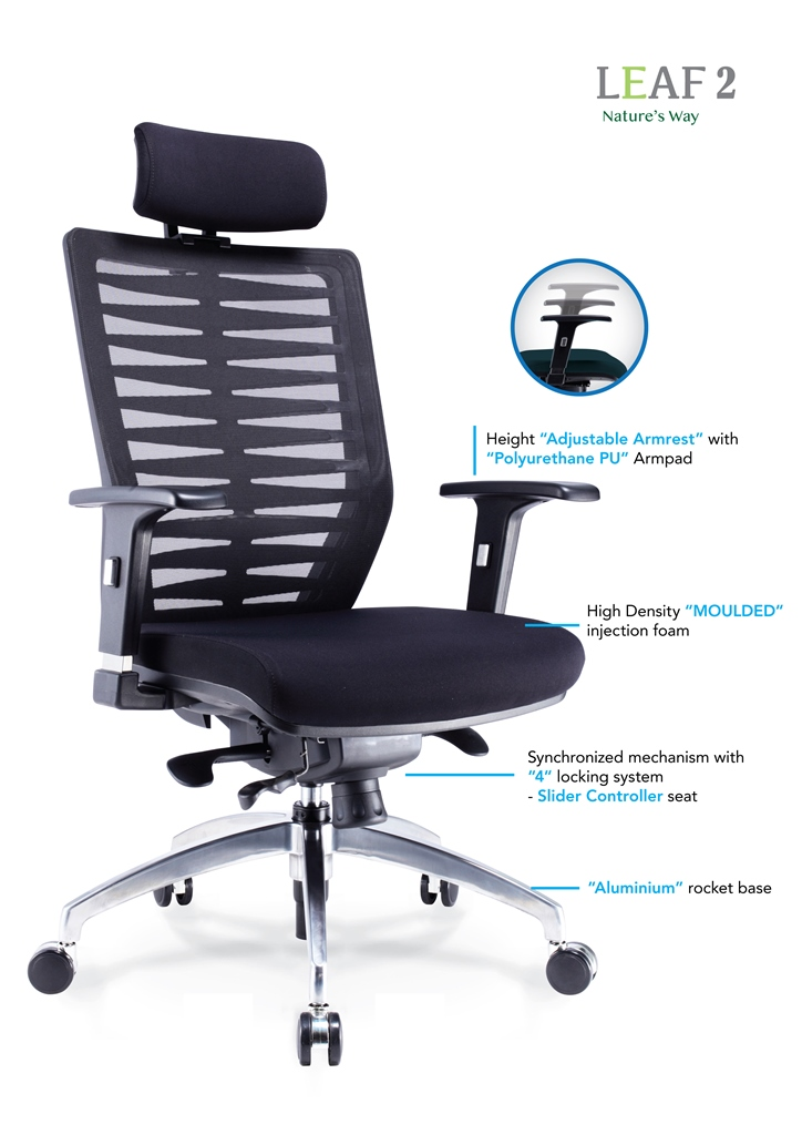 Leaf 2 Office Chair Specification