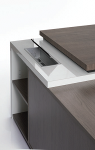 Attractive and durable HPL top paired with MDF top making the detail of this furniture perfect for any application.