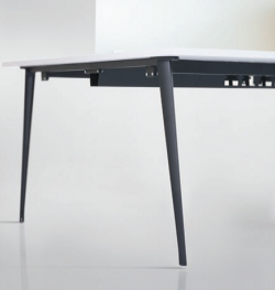 Thin design providing a contemporary and elegant office environment.