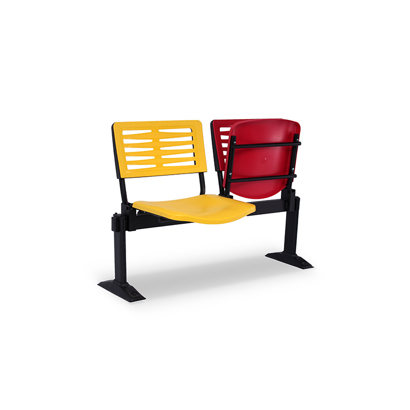 Axis 3 Public Area & Waiting Area Chairs - T-Shape Leg Design with Floor Fixed