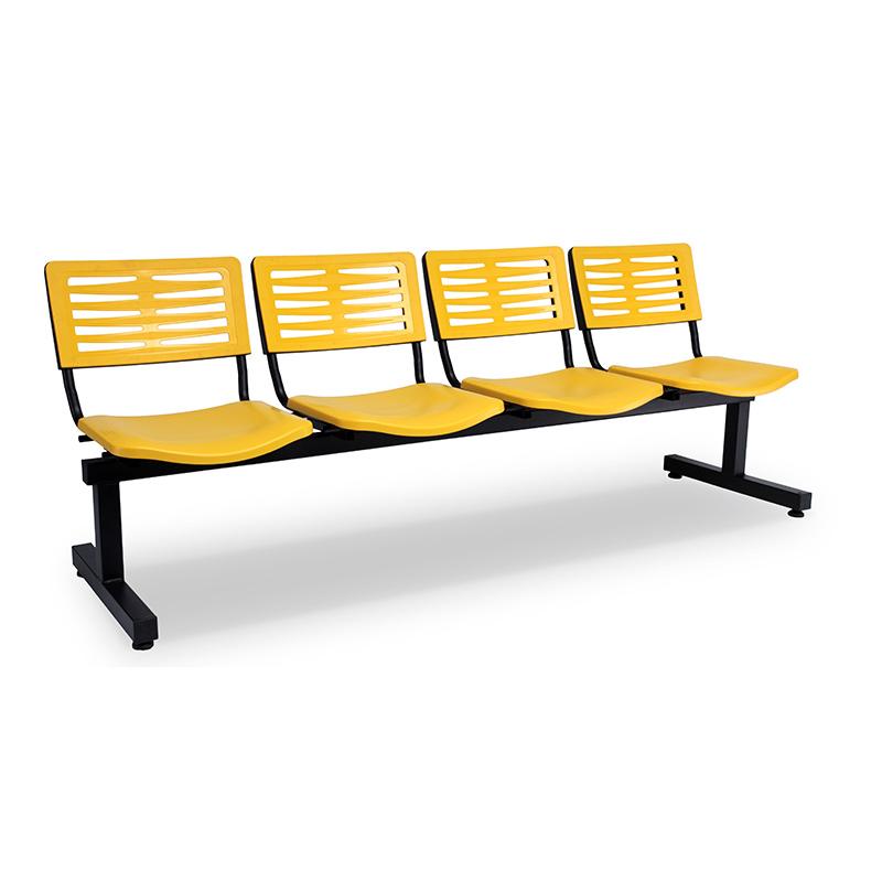 Axis 3 Public Area & Waiting Area Chairs - T-Shape Leg Design