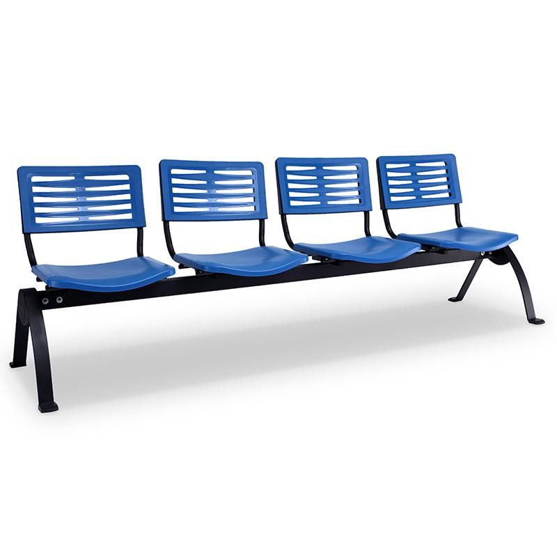 Axis 3 Public Area & Waiting Area Chairs - N-Shape Leg Design