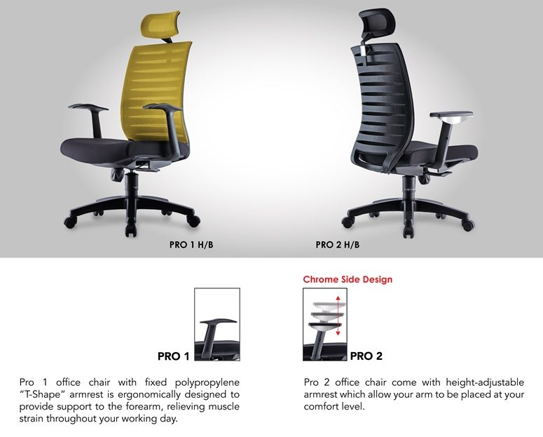 Pro Office Chair Specification