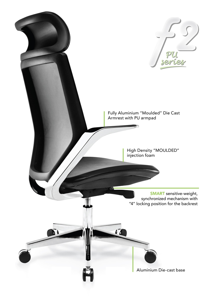 F2 PU series Office Chair Specification