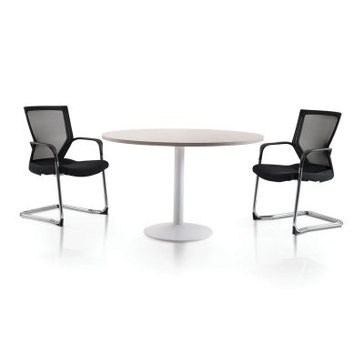 Drum Style Discussion Table - Keno Design