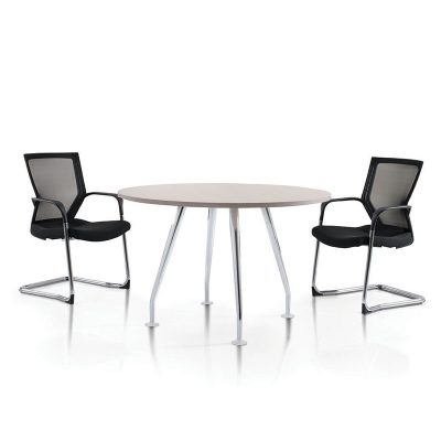Ixia Chrome Style Discussion Table