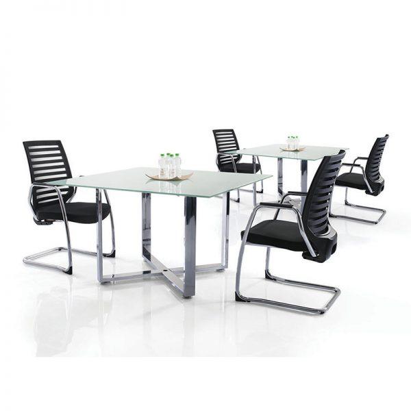 Cassia Chrome Discussion Table