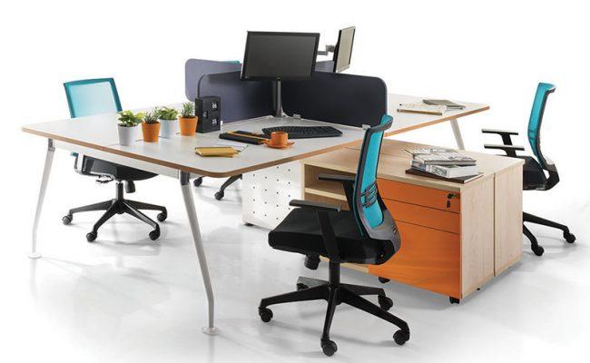 Office Workstation Ixia Concept - Keno Design